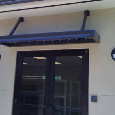 Metal Entrance Awning