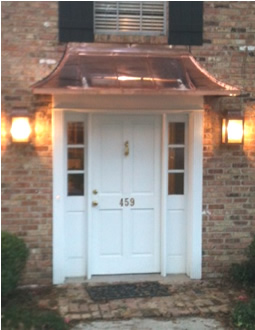 Residential Copper Awning