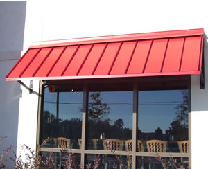 Custom Metal Awnings Commercial And Residential Mobile