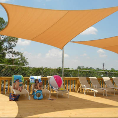 Shade Sails At The Pool