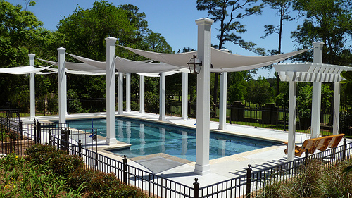 Shade For A Pool
