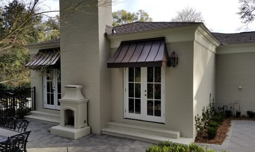 Custom metal awnings, Commercial and Residential, Mobile ...